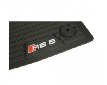 Rubber floor mats front RS5 (B9) Coupe Cabriolet
