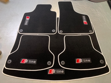 Velor floor mats for A3 / S3 / RS3 (8P / 8PA)