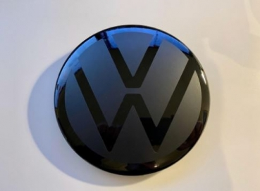 VW Golf 7 GTI, R, Front Emblem NEW LOOK black for ACC