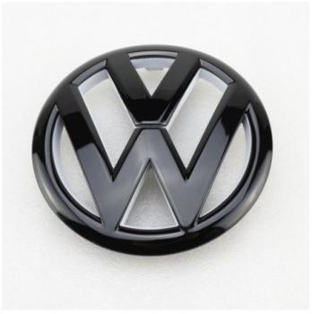 1K9853630A ULM-Heckklappenemblem chrom //schwarz-Golf 2010-2014 Original VW