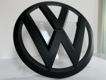 VW T6 / T6.1 Front Emblem in black glossy