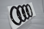 Audi Back Emblem Black Edition 192x67mm A3,S3,RS3,Q2,TT,R8