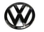 VW Golf 6 rear emblem badge in glossy black R