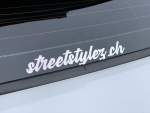 Streetstylez.ch sticker rainbow hologram