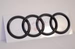 Audi rear emblem piano black - A3 / A4 / A5 / A7 / TT